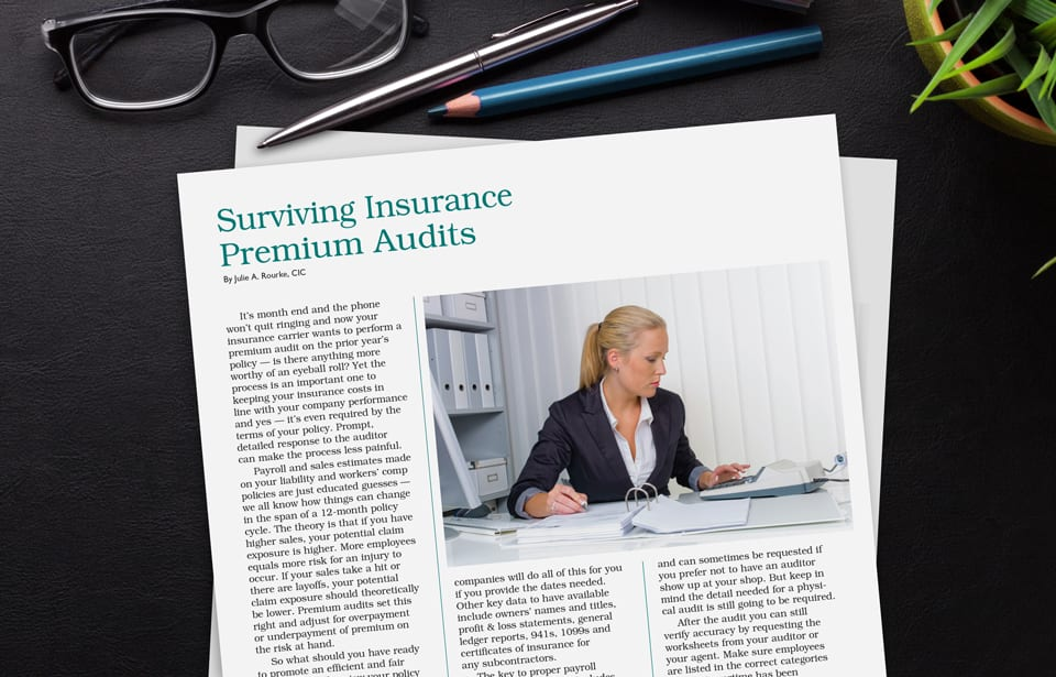 Surviving Premium Audits