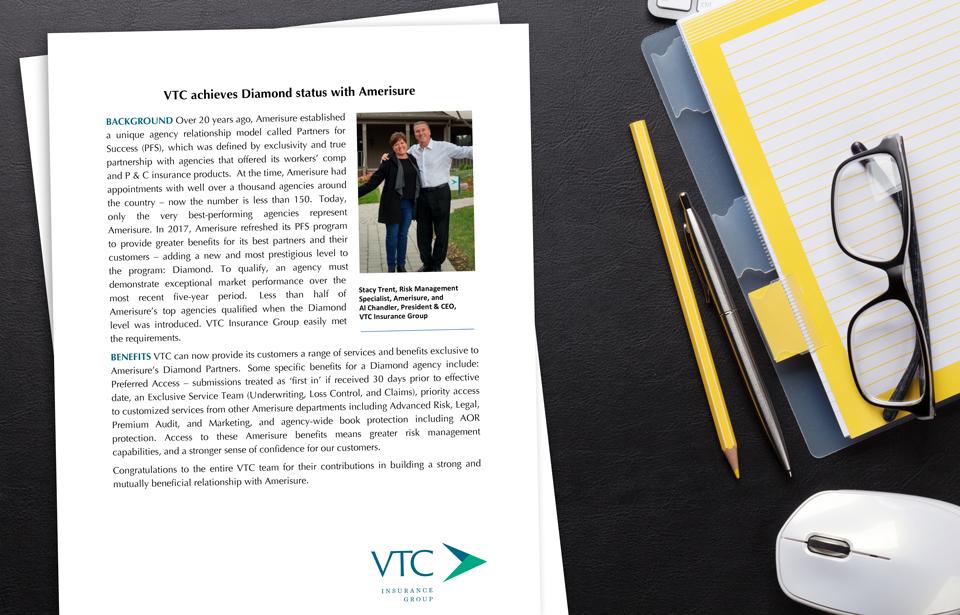 VTC Amerisure Diamond Status